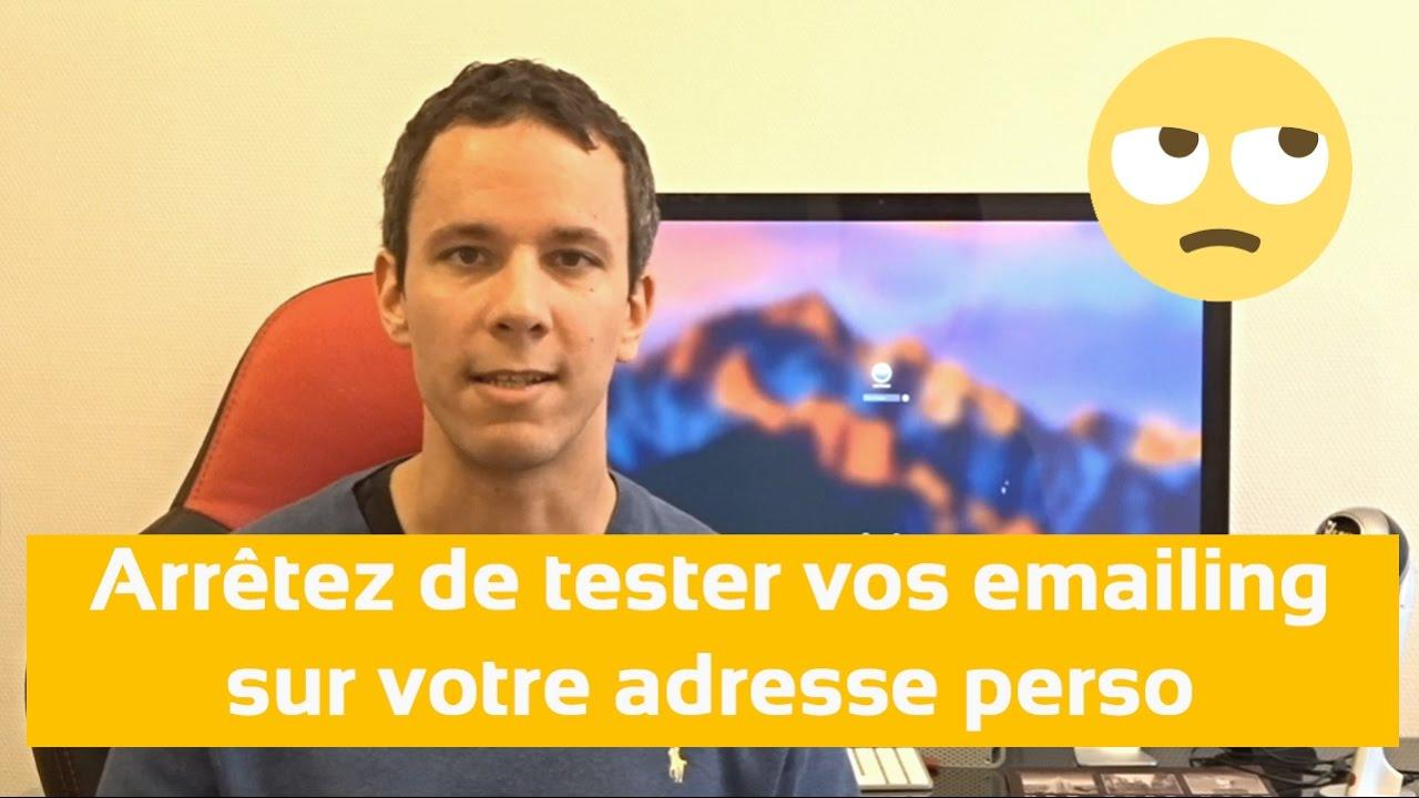 Vous Testez Vos Campagnes Email-marketing Sur Votre Adresse Perso ? Regardez Cette Vidéo :-)Une Petite Vidéo Qui Propose Une Alternative à Un Simple T…